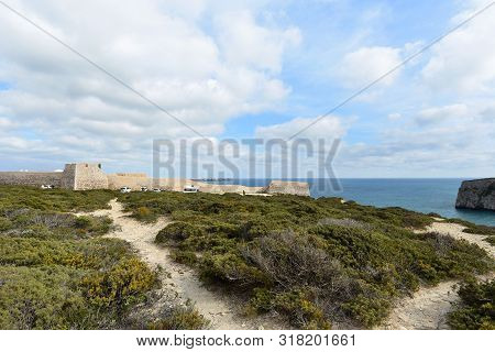 View Of The Fort Of Beliche, Algarve, Portugal