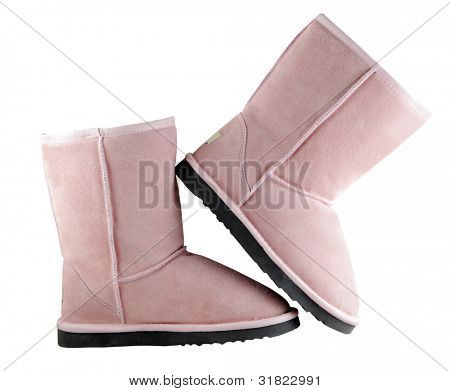 Uggs - female Australian shoes poster