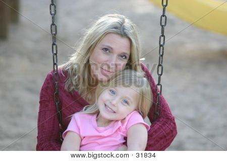 Swinging With Mom