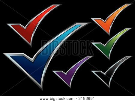 Colorful Assorted Checkmarks