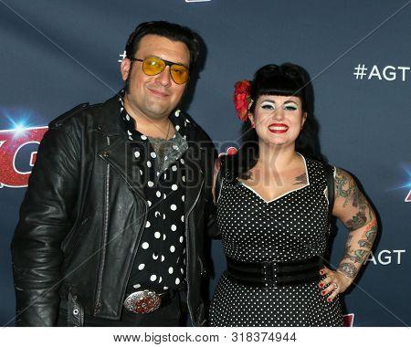 LOS ANGELES - AUG 20:  Nick Williams, Lindsay Williams, Nick and Lindsay at the