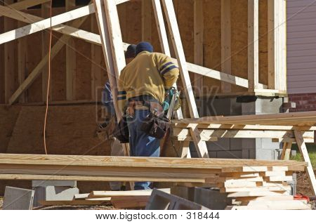 Carpenters Working  2