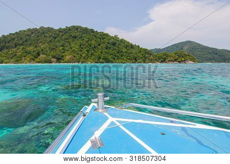 Surin Islands As A Tourist Destination Featured In The Beauty Under The Sea. The Door To Greet Visit