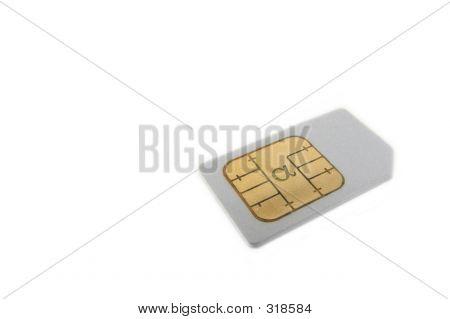 Silver Sim Card