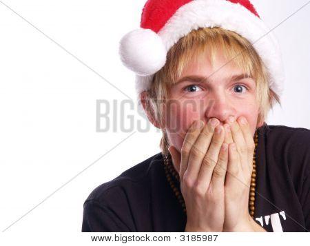 Teen Punk Santa