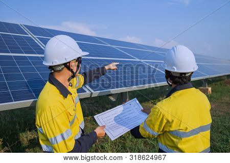 Solar Panel, Alternative Electricity Source - Concept Of Sustainable Resources, And This Is The Sola