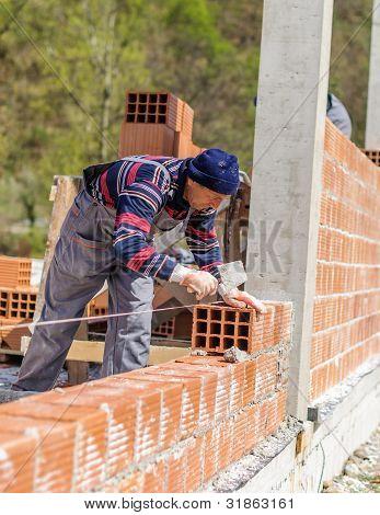 Making a brick wall