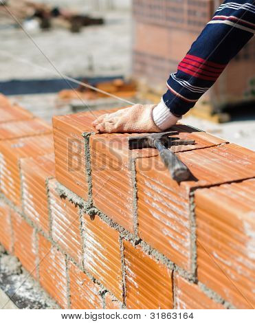 Construction of a wall
