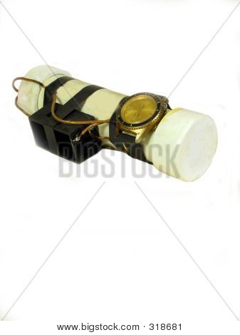 Timed Plastic Pipe Bomb