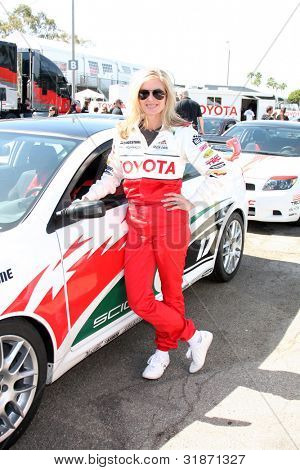 LOS ANGELES - APR 3:  Eileen Davidson at the 2012 Toyota Pro/Celeb Race Press Day at Toyota Long Beach Grand Prix Track on April 3, 2012 in Long Beach, CA