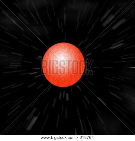 Mars Zoom Blur