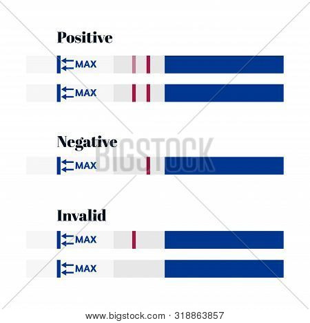 pregnancy test negative and positive