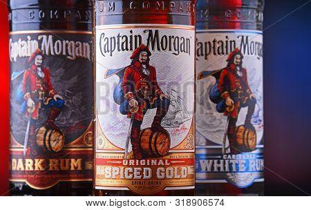 Bottles Of Captain Morgan Rum