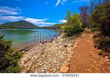 Lake Mir In Telascica Bay Nature Park On Dugi Otok Island, Dalmatia Archipelago Of Croatia