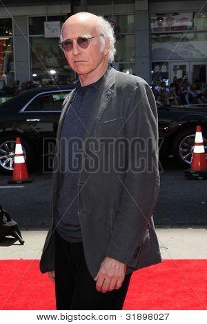 LOS ANGELES - APR 10:  Larry David arrives at