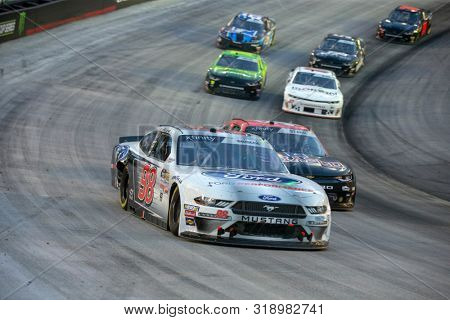 August 16, 2019 - Bristol, Tennessee, USA: Chase Briscoe (98) battles for position for the Food City 300 at Bristol Motor Speedway in Bristol, Tennessee.