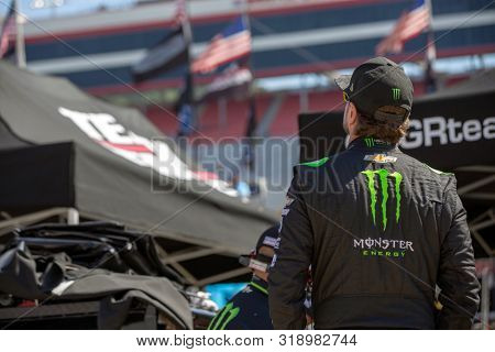 August 16, 2019 - Bristol, Tennessee, USA: Kurt Busch (1) takes to the track to practice for the Bass Pro Shops NRA Night Race at Bristol Motor Speedway in Bristol, Tennessee.