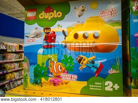 Lego Duplo Town Submarine Journey 10910 In The Hypermarket For Sale On 11.04. 2021 In Russia, Kazan,
