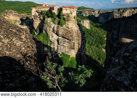 Monasteries of Meteora in Greece