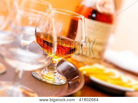 Glass Of Cognac