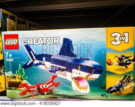 Constructor Lego Creator 31088 Inhabitants Of The Deep Sea For Sale In The Hypermarket 11.04. 2021 I