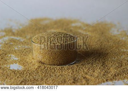 Seeds Of Foxtail Millet, Scientifically Known As Setaria Italica Is An Annual Grass Grown For Food.