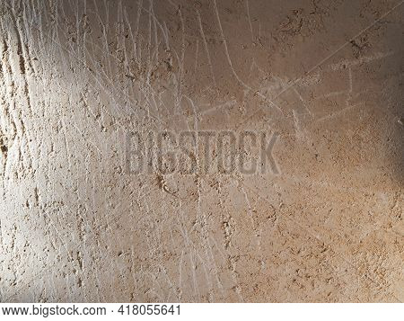 Old Wall Clay Texture Background. Vintage Or Grungy Texture Background. Clay Background With A Textu