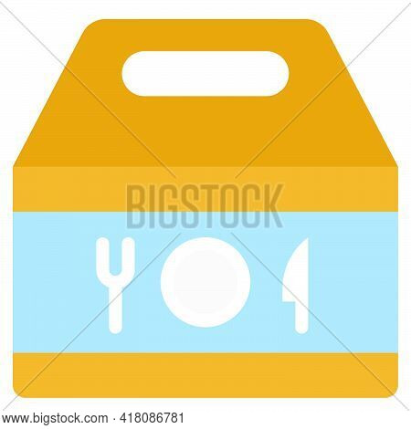 Takeout Icon, Supermarket And Shopping Mall Related Vector Illustration