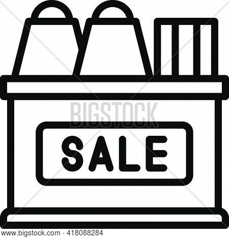 Sale Icon, Supermarket And Shopping Mall Related Vector Illustration