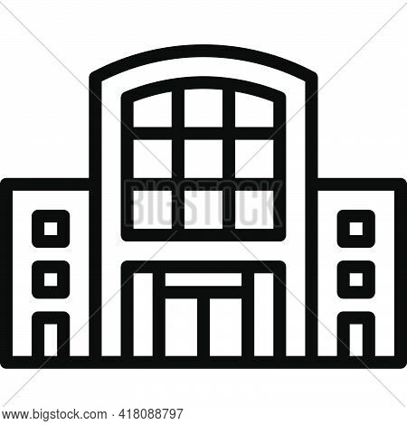 Department Store Icon, Supermarket And Shopping Mall Related Vector Illustration