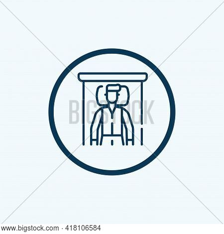 Man Sleeping Icon Isolated On White Background From Behavior Collection. Man Sleeping Icon Trendy An