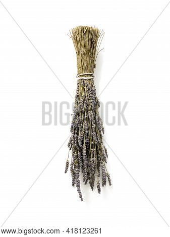 Bundle Of Dried Lavender On A Wall As Decoration