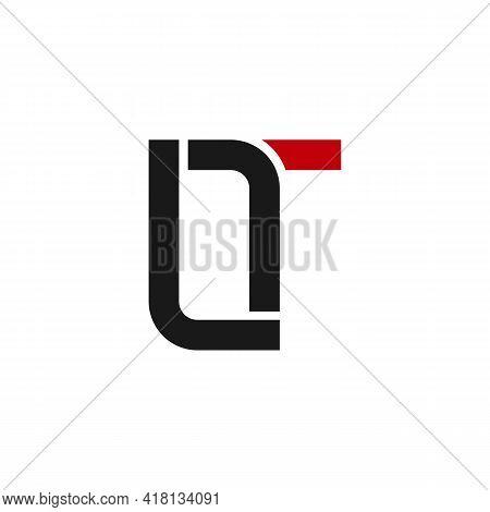 Illustration Vector Graphic Of Logo Lt Letter Monogram