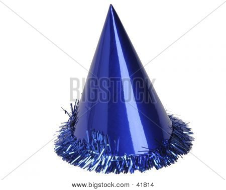 Blue Party Hat