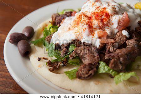 Gyro Mediterranean Dinner