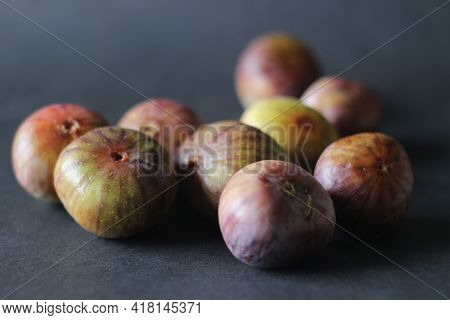 Ripe And Juicy Fresh Fig.