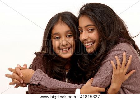 Two Indian loving sisters