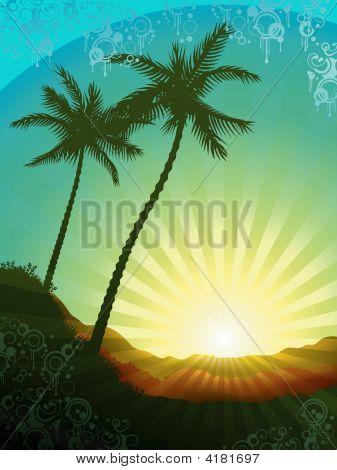 Beautiful Tropical Sunrise