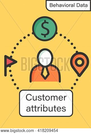 Customer Attributes Brochure.non-personal Labels Group Behavioral Data Into Personal Groups Template