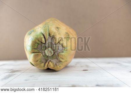 Formosa Variety Papaya Fruit On Wooden Background