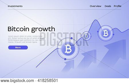 Cryptocoin Mining Farm Layout. Cryptocurrency And Blockchain Network Business 3d Vector Illustration