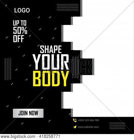 Digital Marketing Social Media Post Banner Template,  Digital Marketing Agency Post Banner, Digital