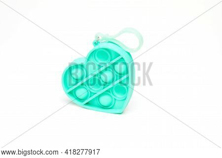Coldplay Pop It Fidget Toys Sensory Toy Fidget Bubble Push Pop Silicone Stress Relief Toy Heart Shap