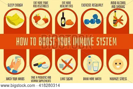 Healthy Habits For Boost Immune System And Prevention Against Diseases