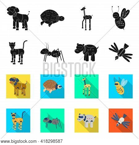 Vector Design Of Toy And Science Icon. Set Of Toy And Toy Stock Vector Illustration.