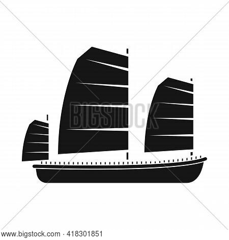 Vector Design Of Ship And Vietnamese Symbol. Set Of Ship And Boat Vector Icon For Stock.