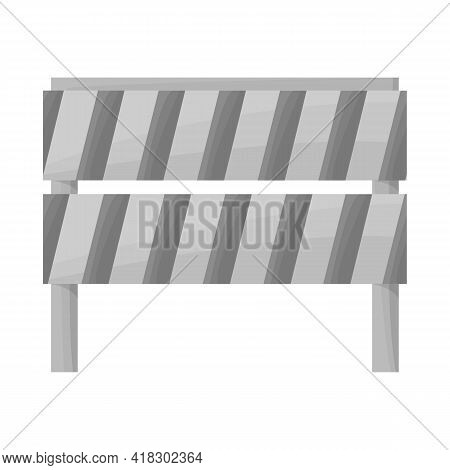 Vector Design Of Block And Road Icon. Graphic Of Block And Traffic Stock Vector Illustration.