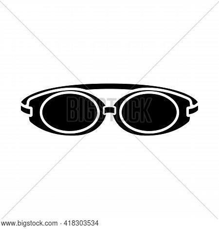 Isolated Object Of Glasses And Eyewear Symbol. Graphic Of Glasses And Eyewear Vector Icon For Stock.