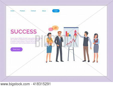 Success Hands Up. Winner Vision, Reaching The Goal, Business Target. Successful Teamwork Strategy, C