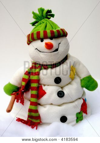 Drooping Snowman